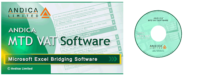 MTD VAT System Requirement Excel Bridging Software