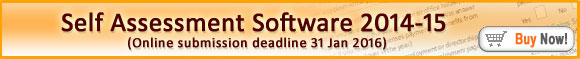 Andica Self Assessment Tax Returns Software 2014-15