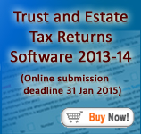 Andica SA900 Trust & Estate Tax Returns Software
